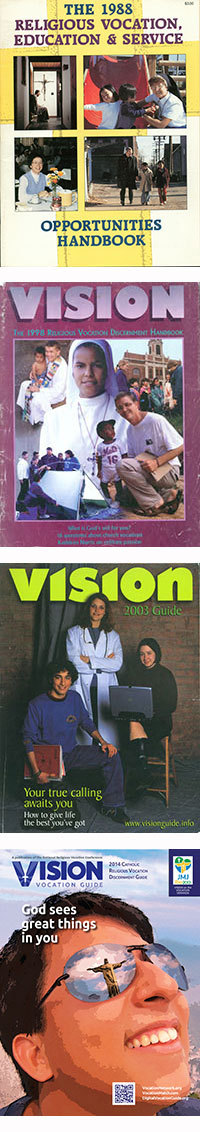 VISION covers