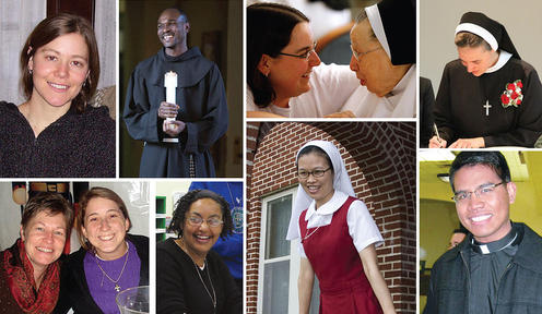 Catholic religious vocations