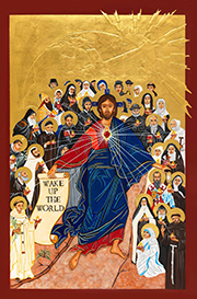 NRVC Vocation Icon Prayer Card