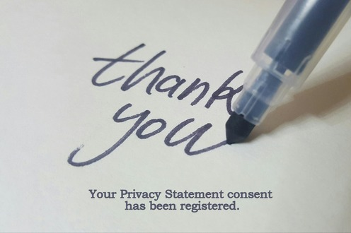 Thank you . Your Privacy Statement consent has been registered