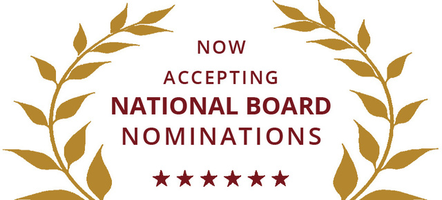 Nominations for the NRVC National Board are now open